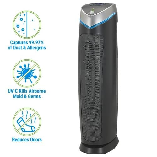 GermGuardian AC5250PT air purifier left featured image