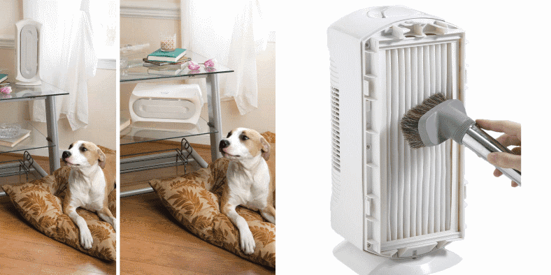 Hamilton Beach TrueAir purifier features image