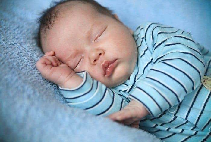 Image of sleeping baby