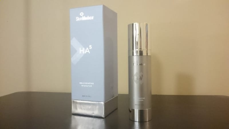 Image of Skinmedica HA5 hydration cream and container, 2 oz. size