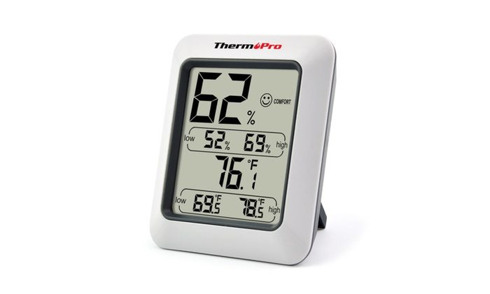 ThermPro TP50 humidity and temperature gauge