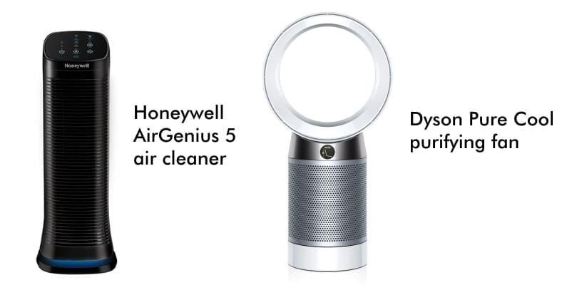 Image of air purifiers that are fans