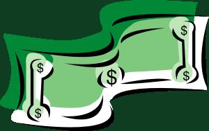 Clip art of money