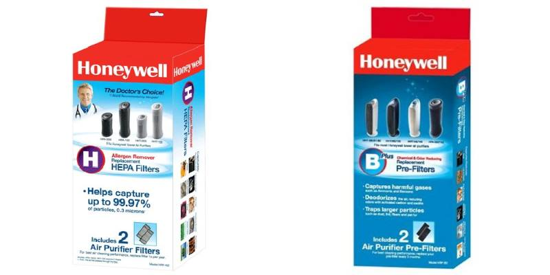 Honeywell HPA160 replacement filters
