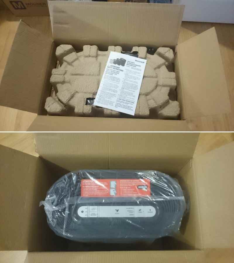 Honeywell HPA 200 unboxing
