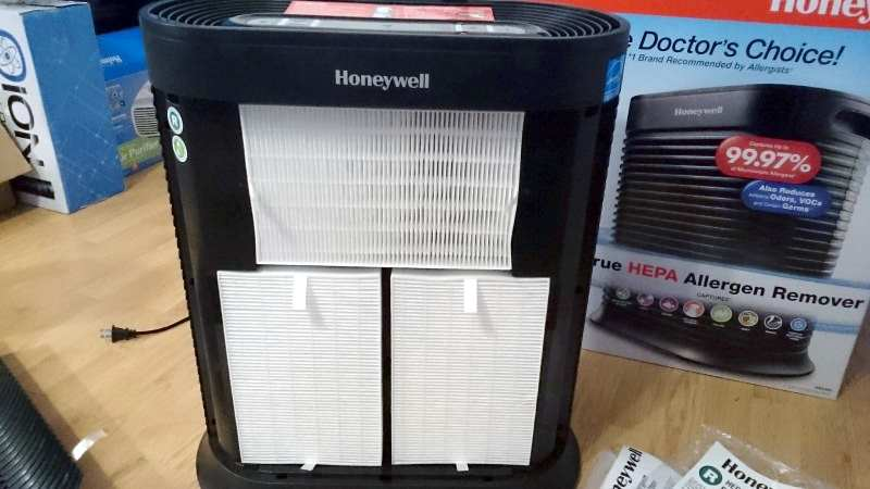 HPA300 HEPA filters installed new