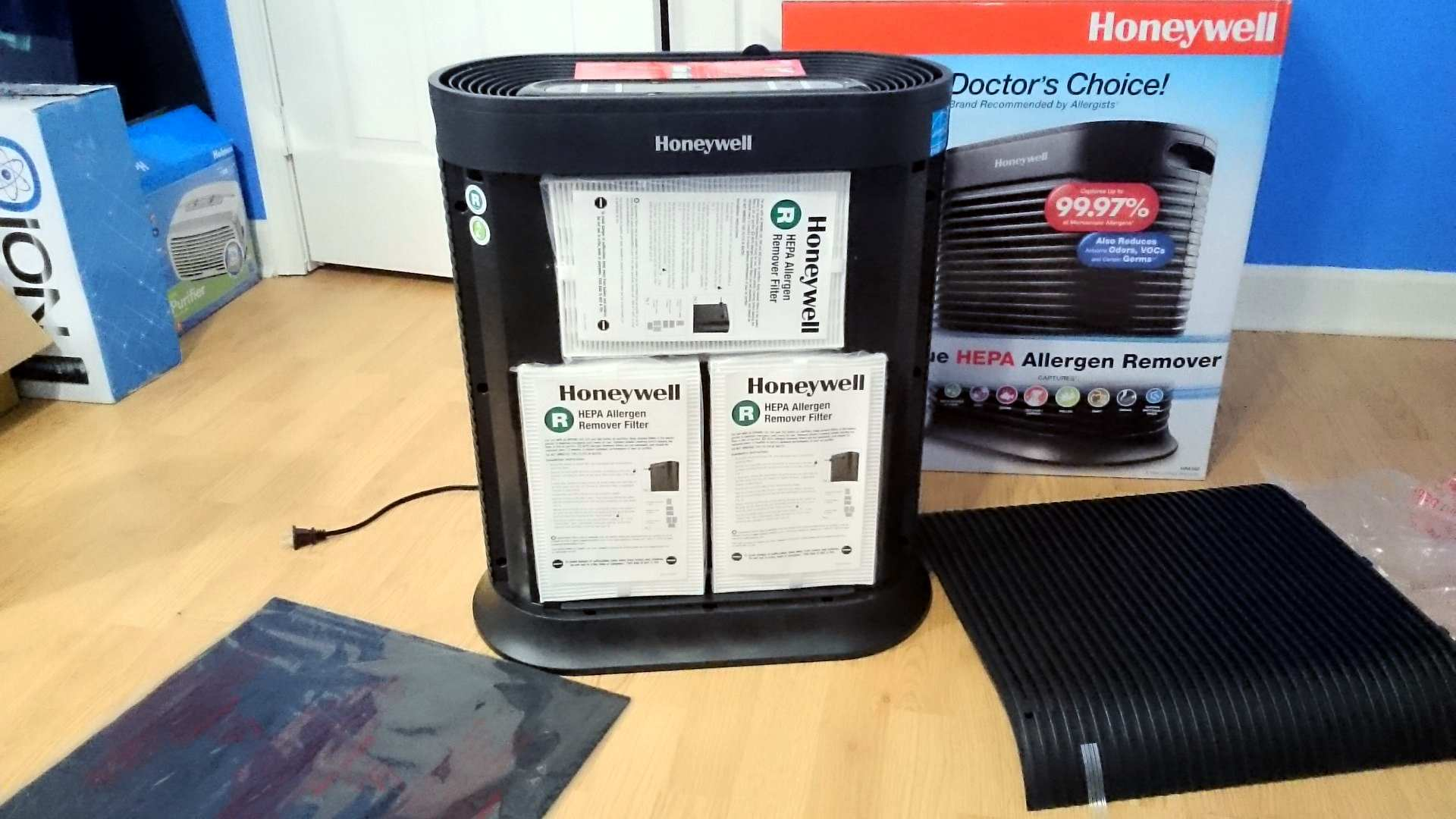 Honeywell HPA300 new filter view image