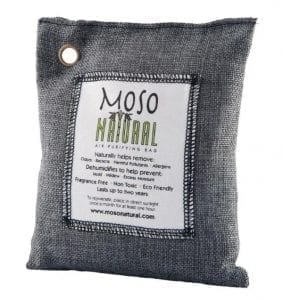 Moso charcoal carbon air purifying bag
