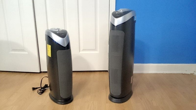GermGuardian AC4825 vs ac5000 side by side