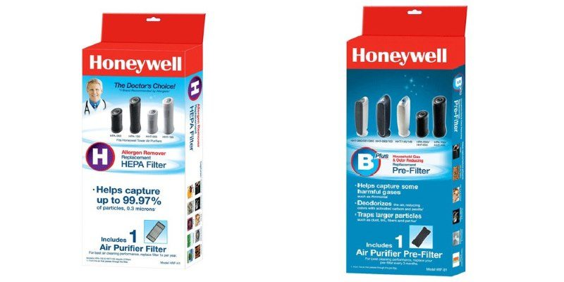 Replacement filters for the Honeywell HPA060
