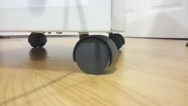 Enviroklenz Mobile air purifier wheels image