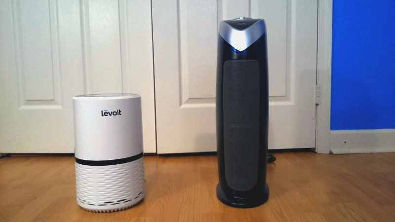 Levoit LV-H132 Vs Germguardian AC4825 comparison image