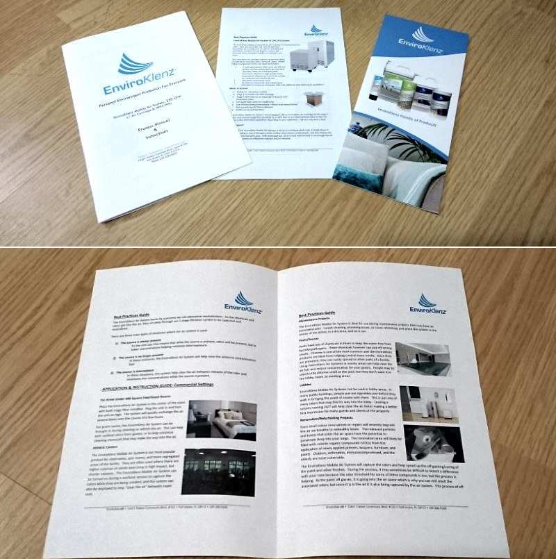 Image of Mobile purifier owners manual and guide