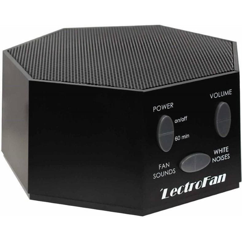 LectroFan white noise machine black color