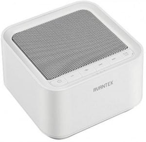 Avantek white noise machine basic white model image