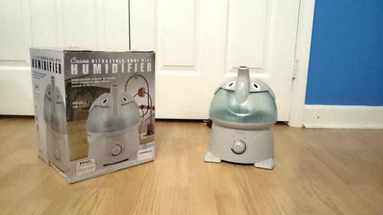 Crane elephant cool mist humidifier review featured image