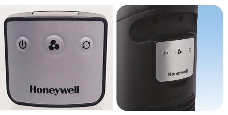 Honeywell QuietSet tower fan remote control image