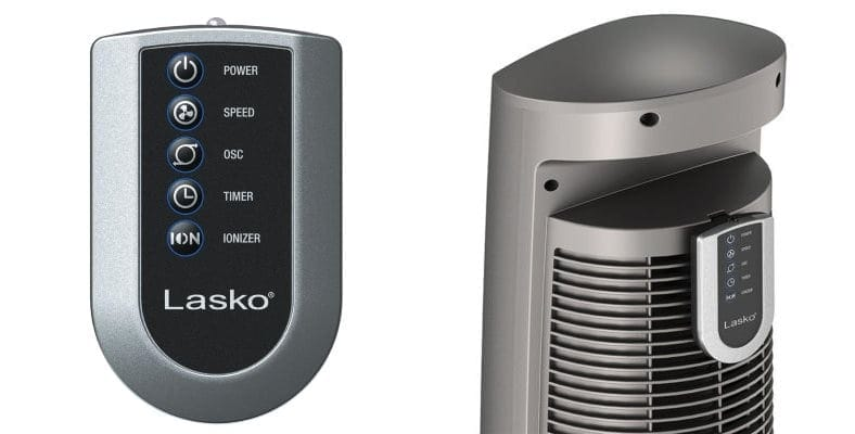 Lasko wind curve tower fan remote control