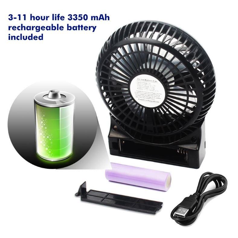 Opolar portable fan battery