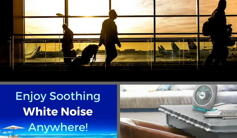 Best travel fans for white noise featured