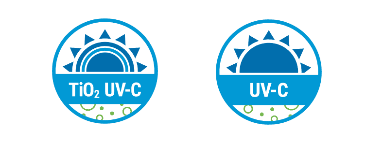 GermGuardian UV-C and Ti02 germ killing badges
