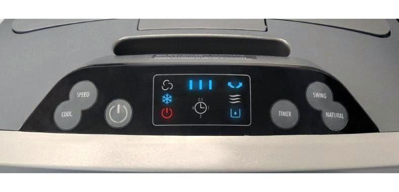 Honeywell CO30XE control panel image