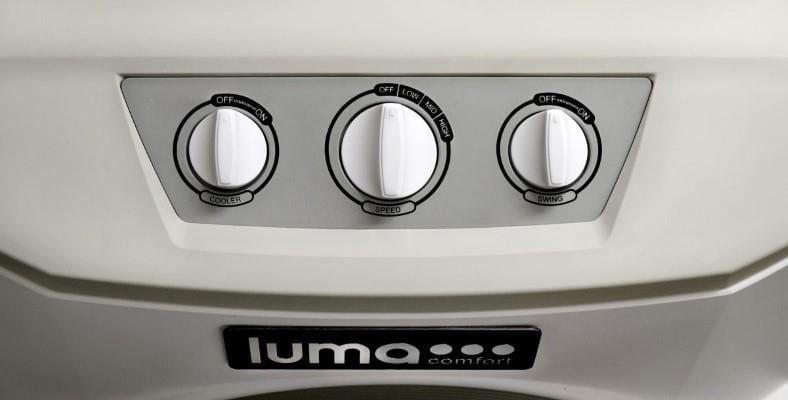 Luma Comfort EC220W control panel image