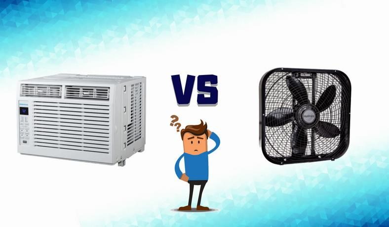 What uses more electricity AC or a fan featured image