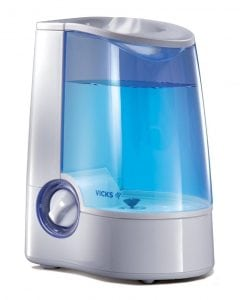 Vicks V745 warm mist humidifier image
