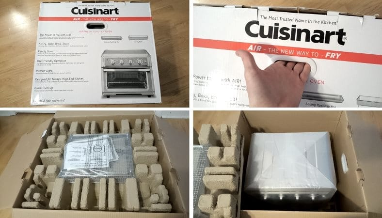 Cuisinart TOA-60 unboxing and packaging