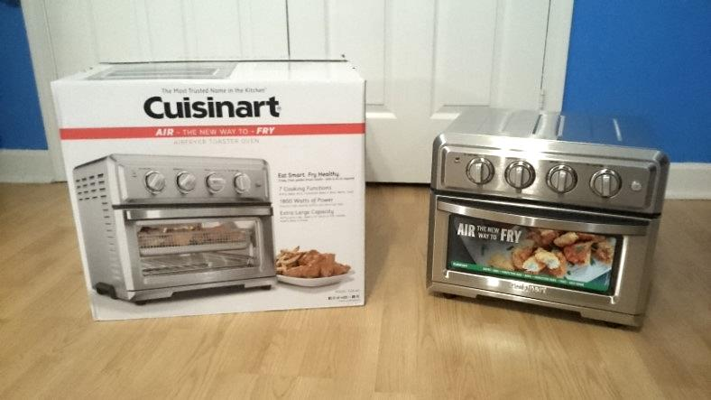 Cuisinart Toa 60 Convection Toaster Oven Air Fryer Hands