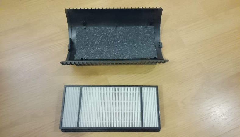 Honeywell HPA060 image of filters used