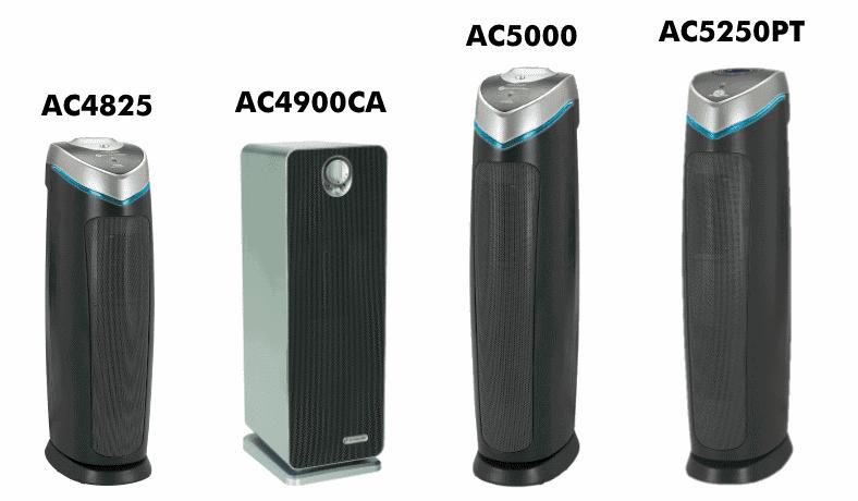 GermGuardian AC4825 AC4900CA AC5000 AC5250PT product family image