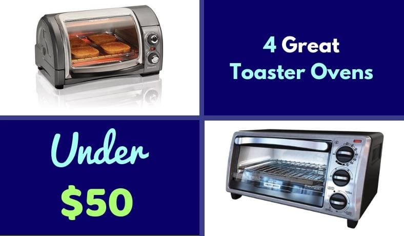 Best toaster ovens under $50 featured image