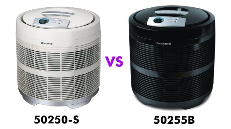 Honeywell 50250 vs 50255 comparison image