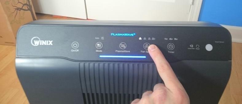 Winix 5500-2 purifier controls image #1