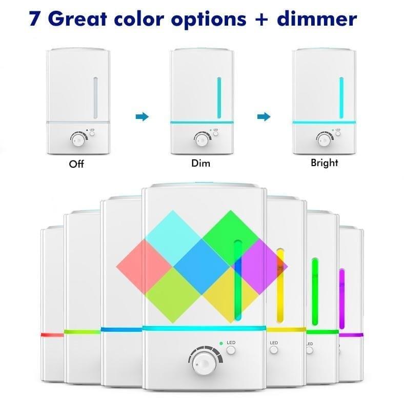 Exqline diffuser lighting features diagram