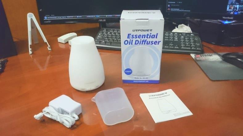 URPOWER small room essential oil diffuser example image