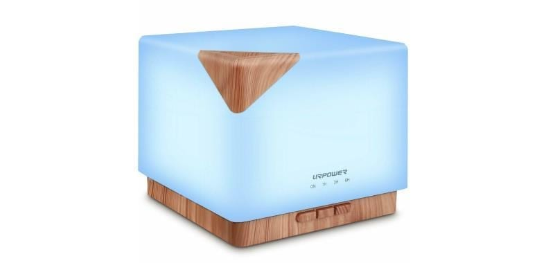 URPOWER square 700mL essential oil diffuser product image