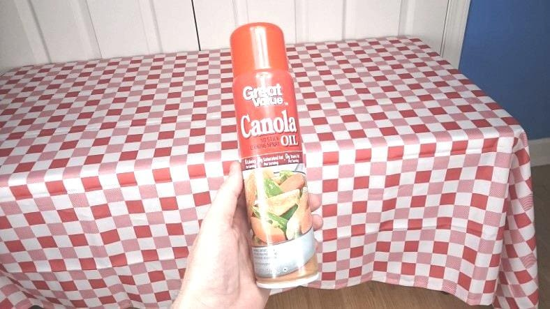 Image showing an example of spray canola oil for cooking