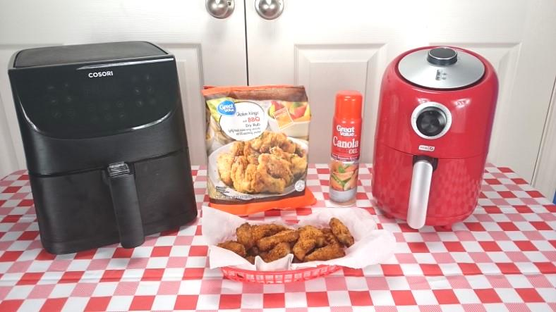 How to make frozen wings in an air fryer featured image