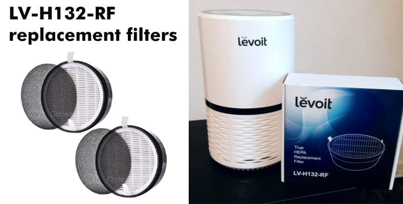 LV-H132-RF replacement HEPA filter example image