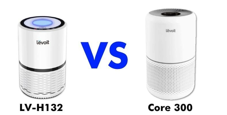 Levoit LV-H132 vs Core 300 comparison image
