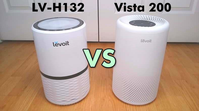 Levoit LV-H132 vs Vista 200 air purifier comparison featured image