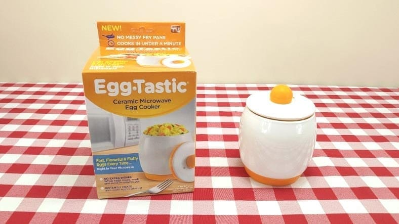 Eggtastic ceramic microwave egg cooker example