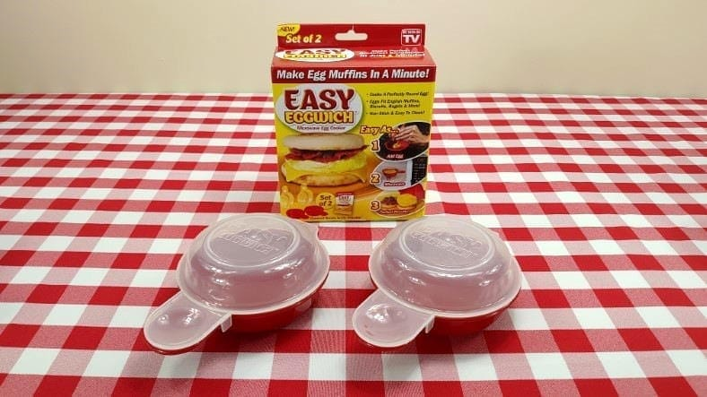 Eggwich microwave egg sandwich maker image