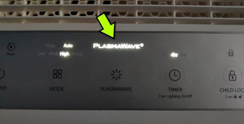 Winix HR900 PlasmaWave use example
