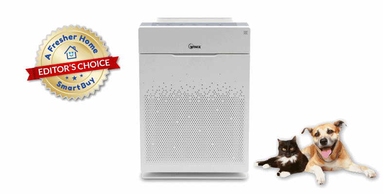 Winix HR900 air purifier review editors choice badge image
