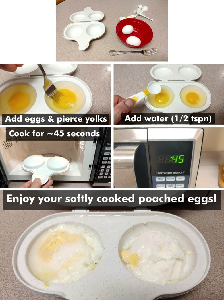 How To Use Microwave Egg Cookers Fast Delicious Eggs Are Easy To Make