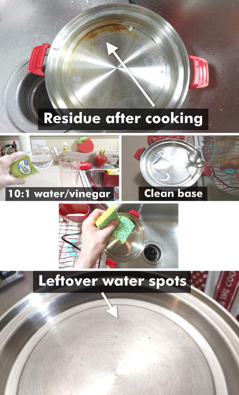 Dash Rapid Egg Cooker cleaning after cooking example images